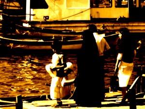 Famiglia a Eyup, Istambul