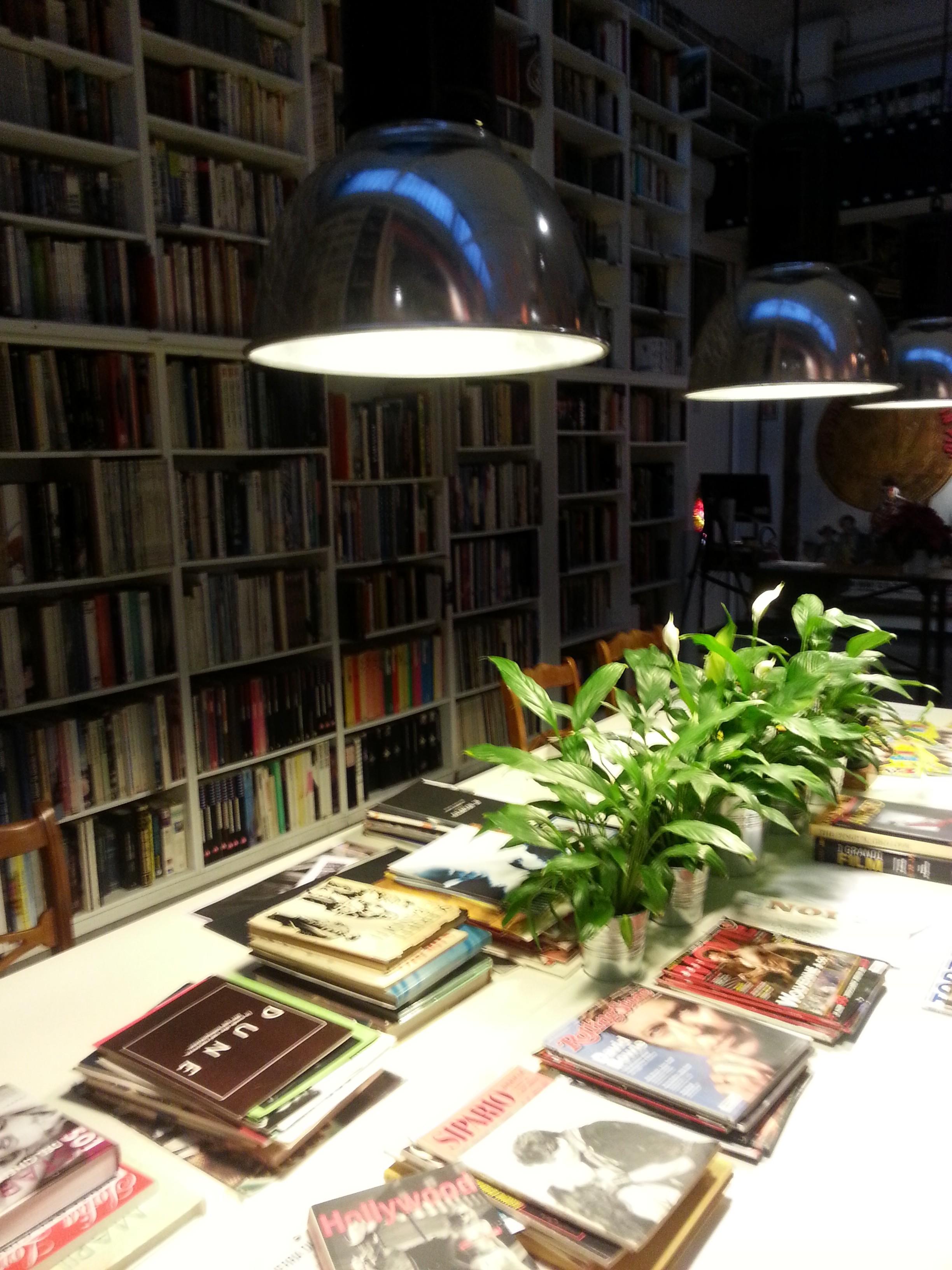 Museo del Manifesto Cinematografico Milano: la biblioteca