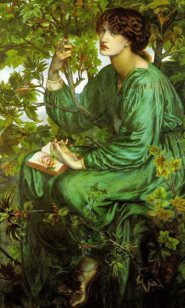 The day dream, Dante Gabriel Rossetti