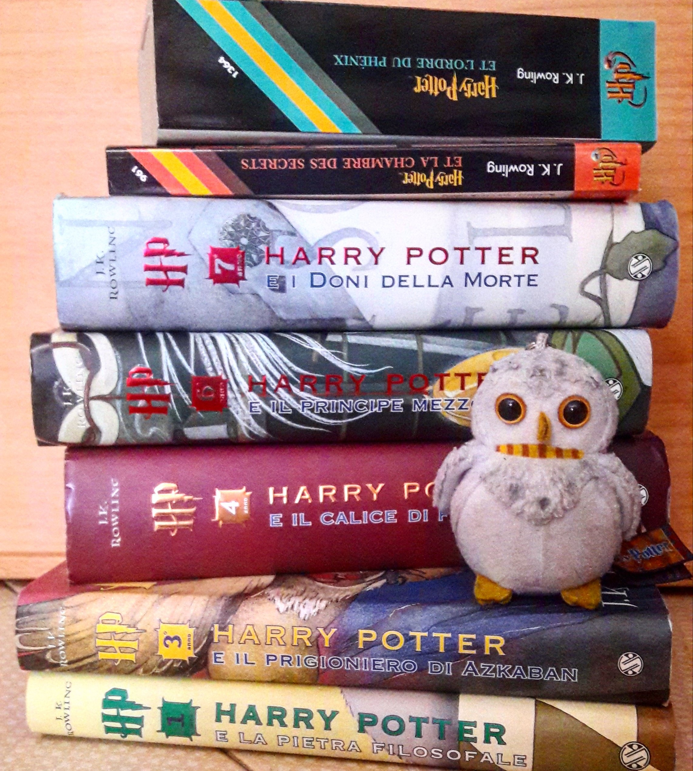 Harry Potter, J. K. Rowling