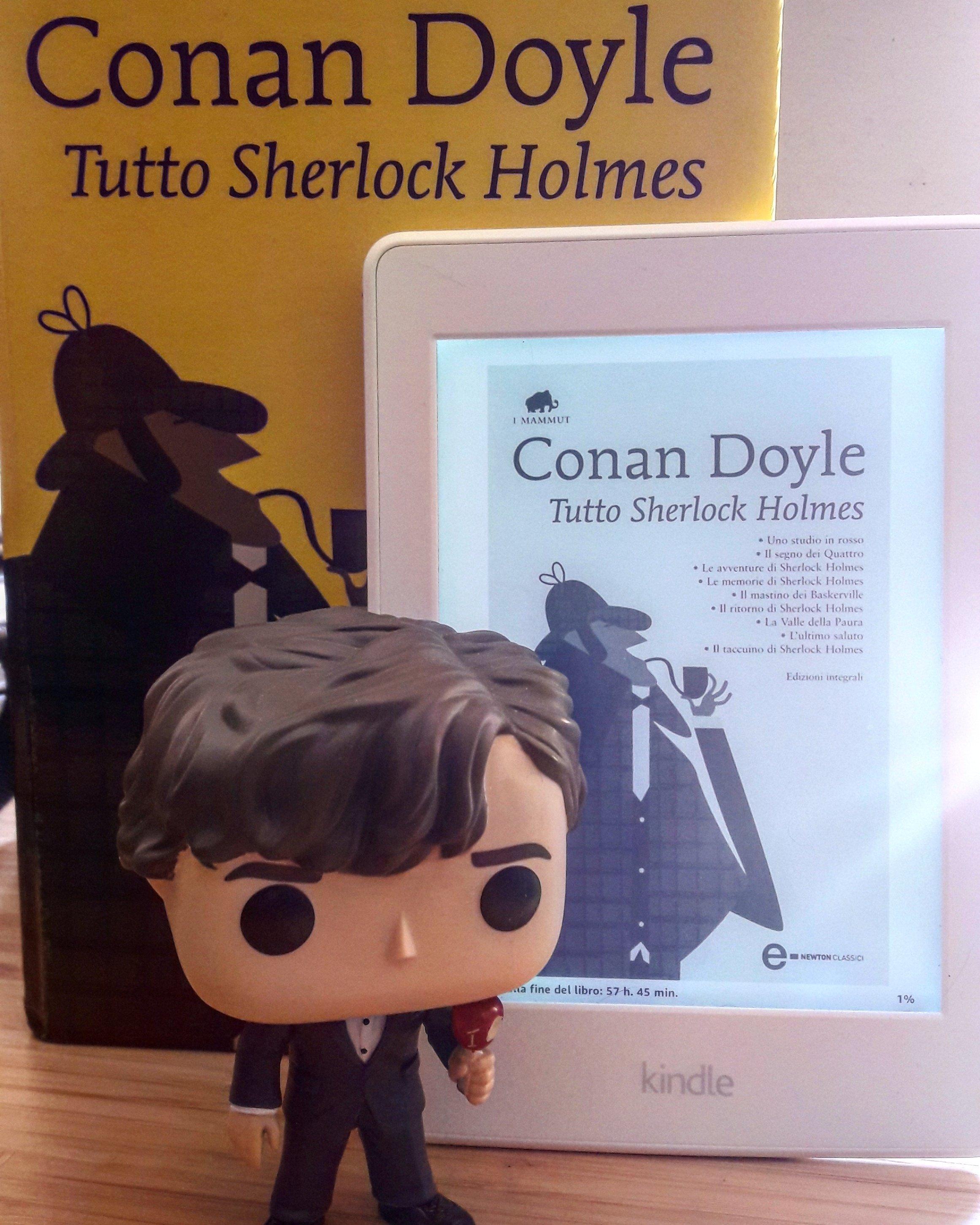 Conan Doyle sia di carta che in ebook