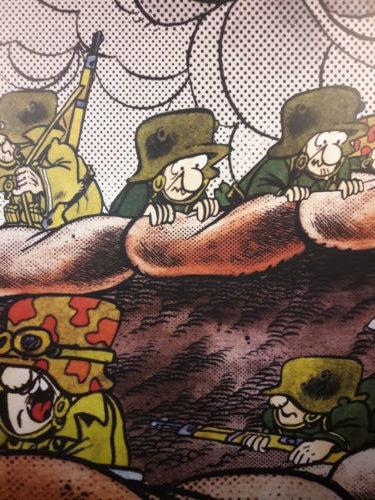 L'esercito degli Sturmtruppen invade Palazzo Fava